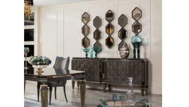 Lüks Retrona Art Deco Yemek Odası - Thumbnail