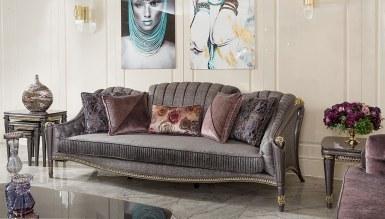 Lüks Revona Art Deco Koltuk Takımı - Thumbnail