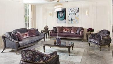 525 - Lüks Revona Art Deco Koltuk Takımı