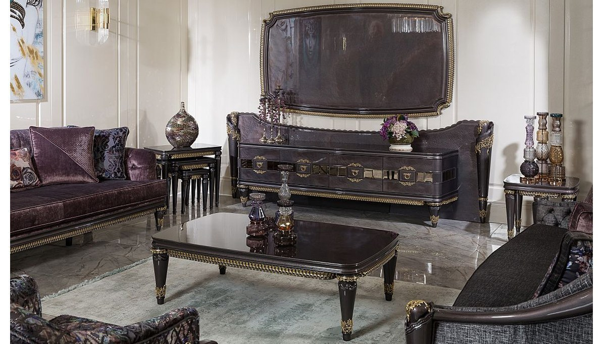 Lüks Revona Art Deco TV Ünitesi