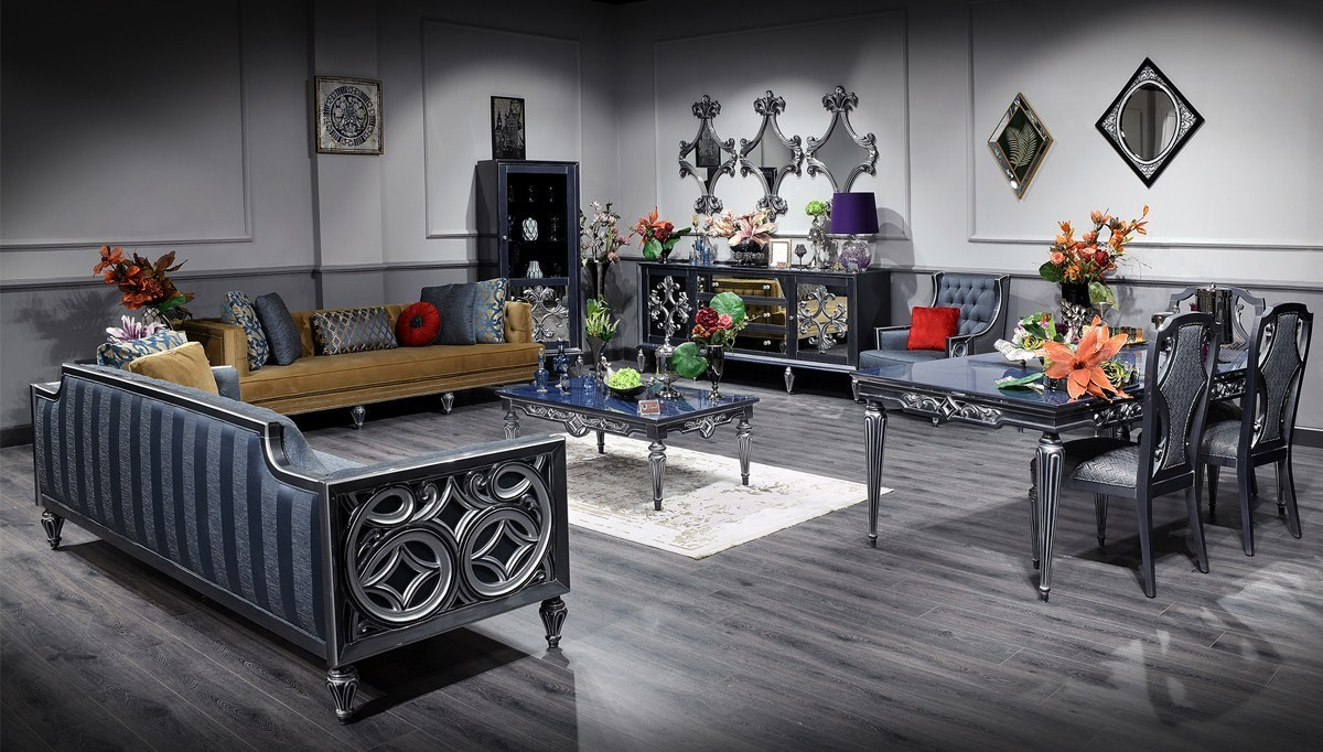 Lüks Revora Klasik Yemek Odası