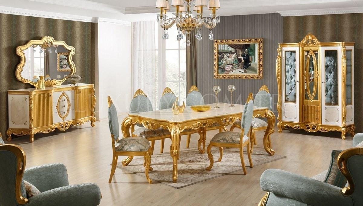Lüks Reynardo Klasik Yemek Odası
