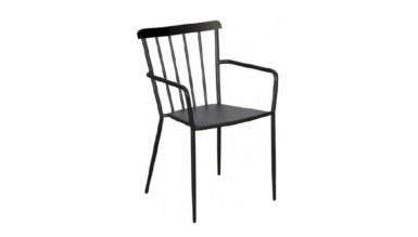 1009 - Lüks Rick Metal Ayaklı Sandalye