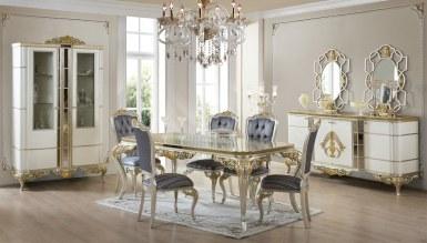 714 - Lüks Ricmond Klasik Yemek Odası
