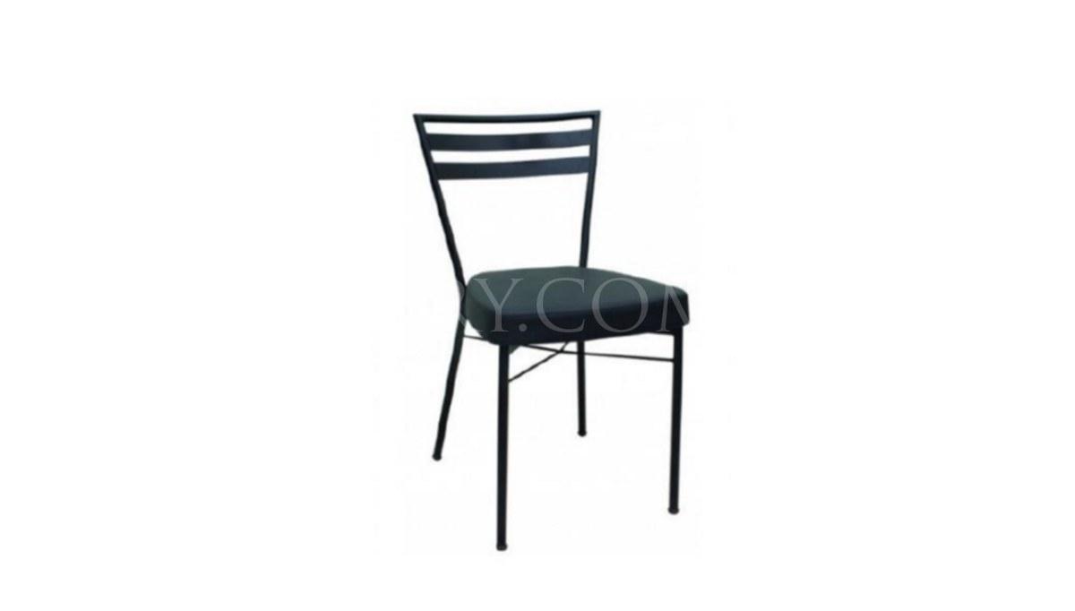 Lüks Rida Metal Ayaklı Sandalye