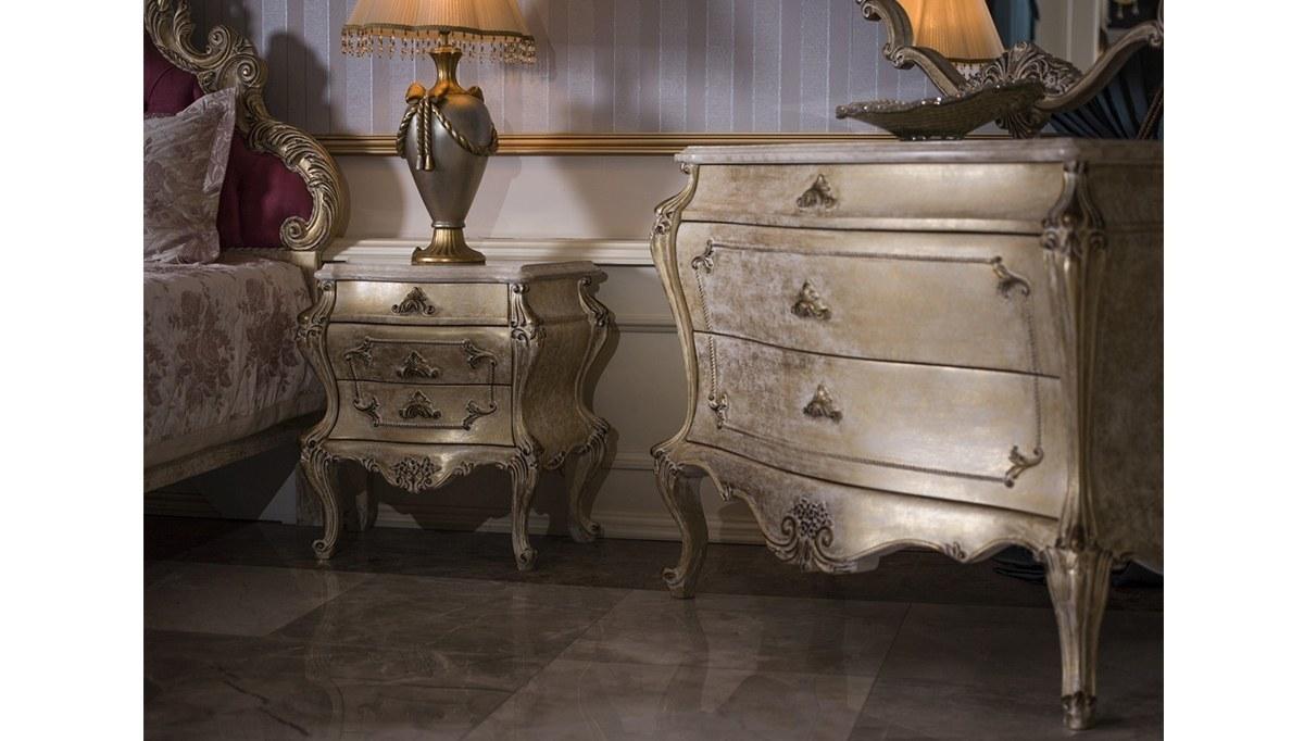Lüks Rim Klasik Yatak Odası