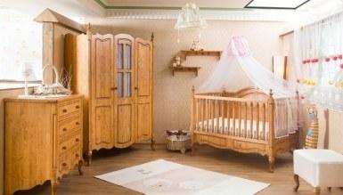 1007 - Lüks Risoner Ahşap Bebek Odası