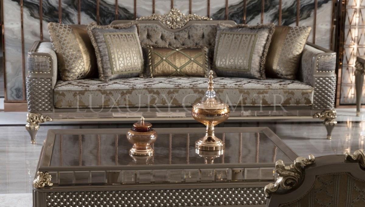Lüks Rivesa Art Deco Koltuk Takımı