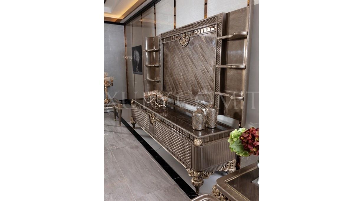 Lüks Rivesa Art Deco TV Ünitesi