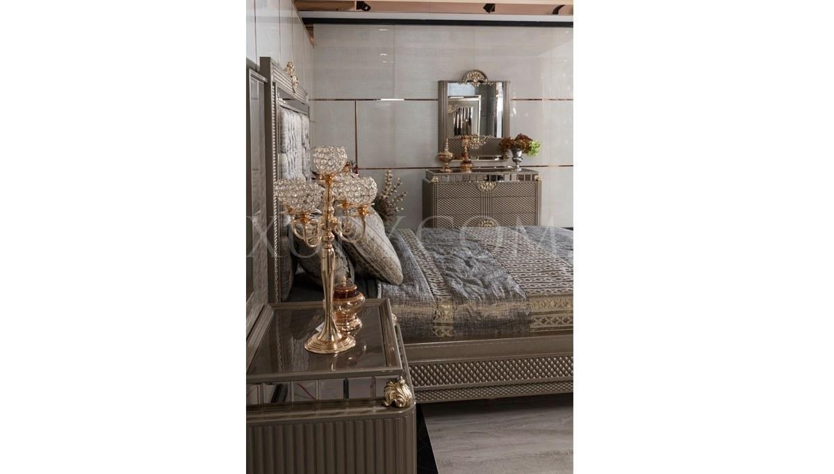 Lüks Rivesa Art Deco Yatak Odası