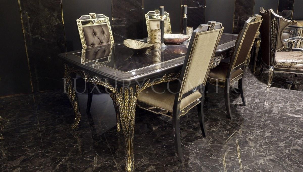 Lüks Rodesa Luxury Yemek Odası