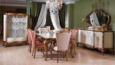 525 - Lüks Romance Klasik Yemek Odası