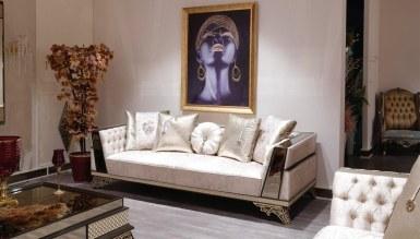Lüks Romenas Art Deco Koltuk Takımı - Thumbnail
