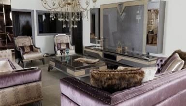 Lüks Romenas Art Deco TV Ünitesi - Thumbnail