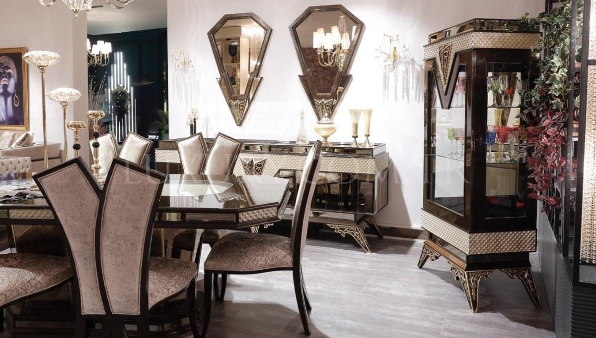 Lüks Romenas Art Deco Yemek Odası