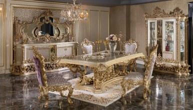 770 - Lüks Rönesans Klasik Yemek Odası