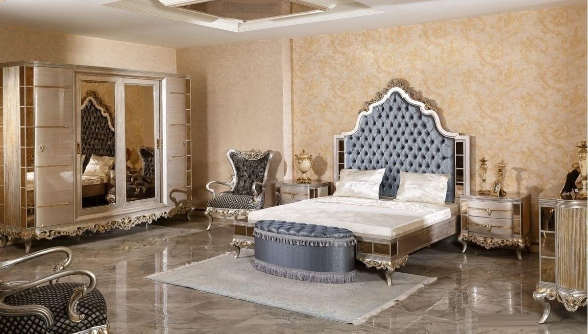 Lüks Ronse Klasik Yatak Odası