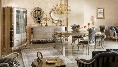 525 - Lüks Ronse Klasik Yemek Odası