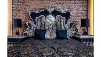 Lüks Rosali Klasik Yatak Odası - Thumbnail