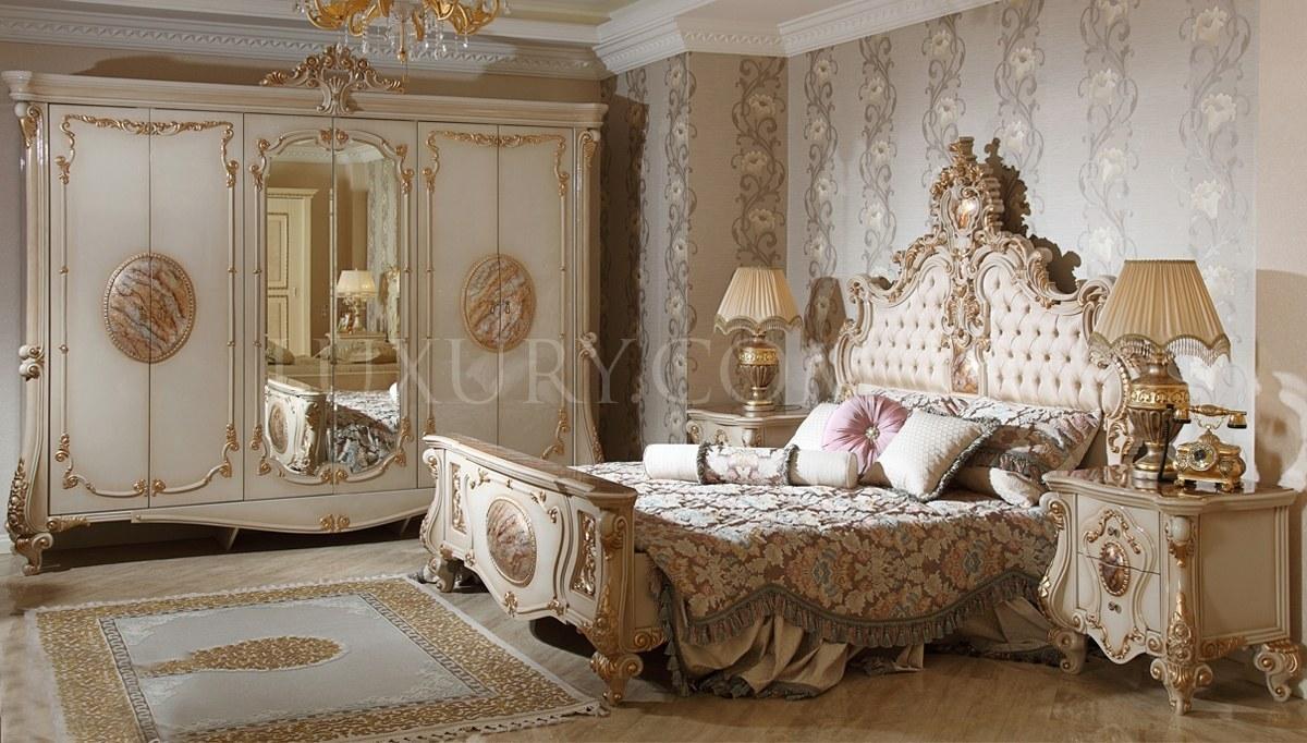 Lüks Rosena Klasik Yatak Odası
