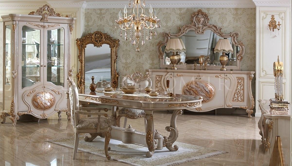Lüks Rosena Klasik Yemek Odası