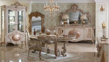 Lüks Rosena Klasik Yemek Odası - Thumbnail