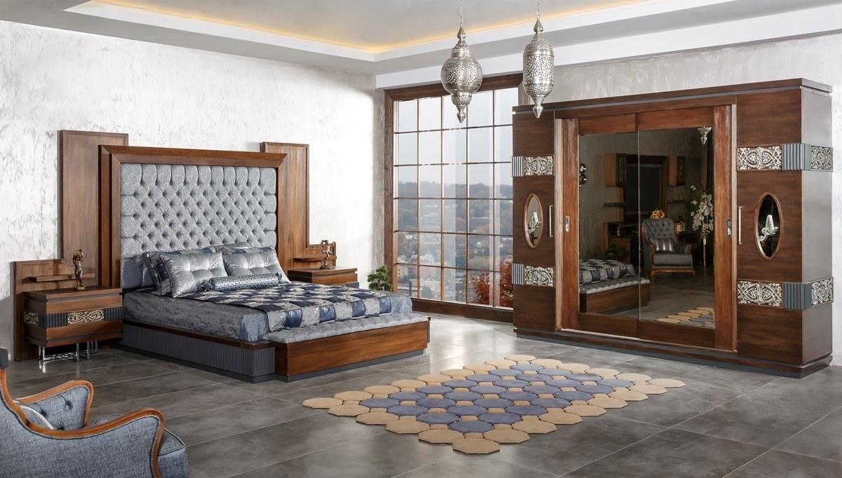 Rosignol Ceviz Klasik Yatak Odası