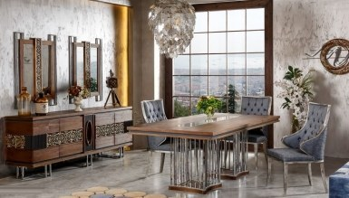 Lüks Rosignol Klasik غرفة الطعام