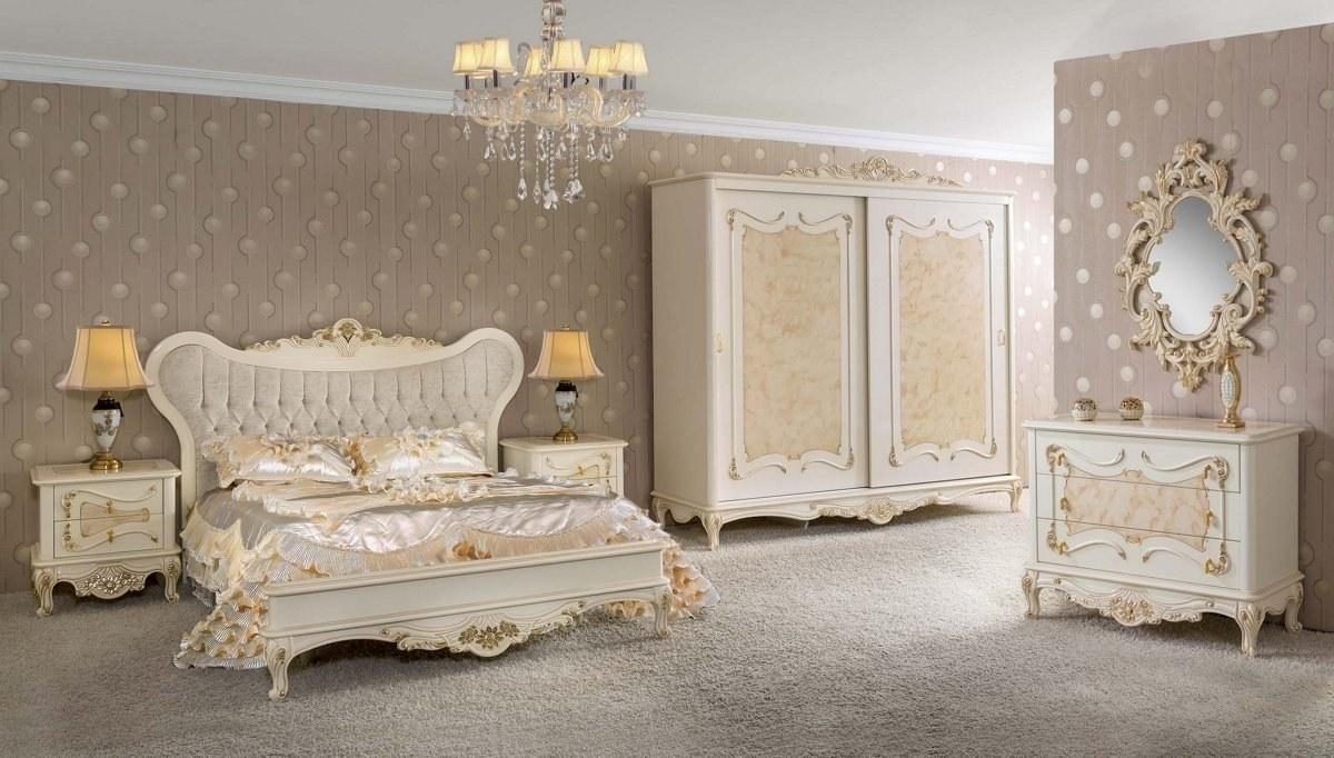 Lüks Roveta Klasik Yatak Odası