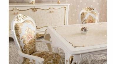 Lüks Roveta Klasik Yemek Odası - Thumbnail