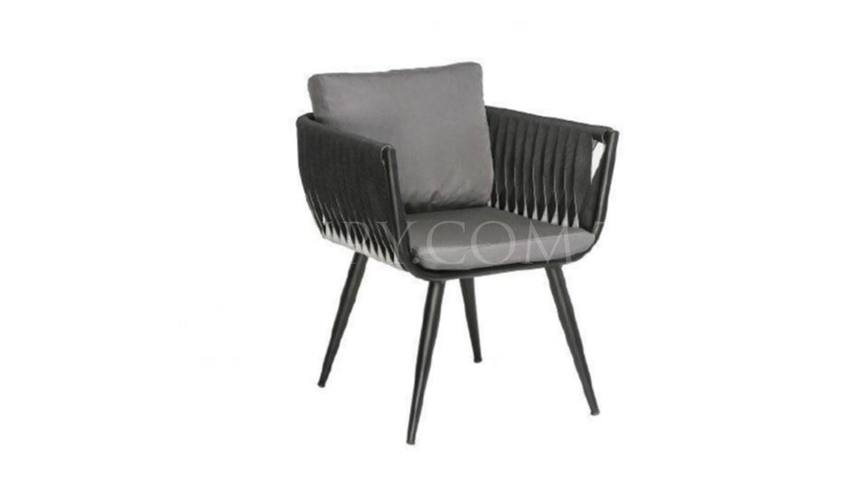 Lüks Rulle Metal Ayaklı Sandalye