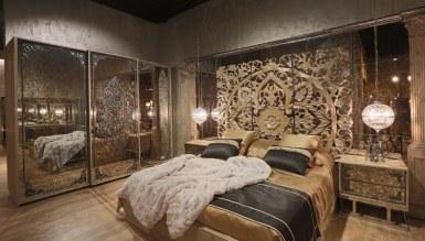 Lüks Rumena Metal Yatak Odası - Thumbnail