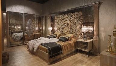 768 - Lüks Rumena Metal Yatak Odası