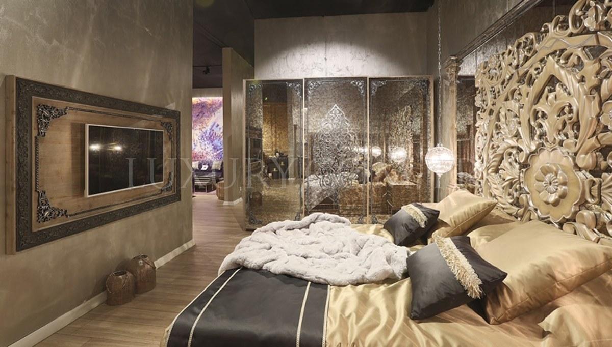 Lüks Rumena Metal Yatak Odası