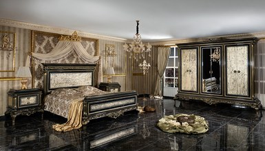 Lüks Sadrazam Klasik Yatak Odası - Thumbnail