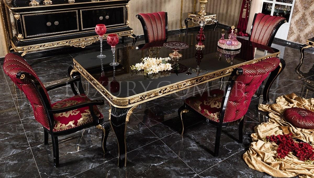 Lüks Sadrazam Klasik Yemek Odası