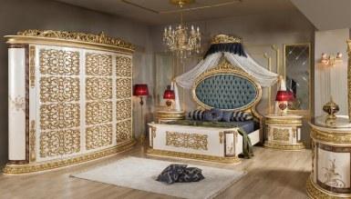 792 - Lüks Safari Klasik Yatak Odası