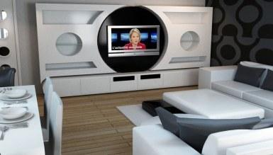 Lüks Safdar TV Ünitesi