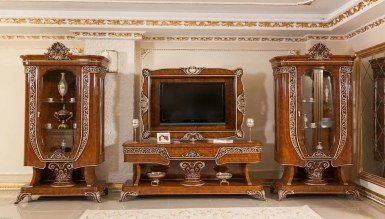 729 - Lüks Safir Klasik TV Ünitesi