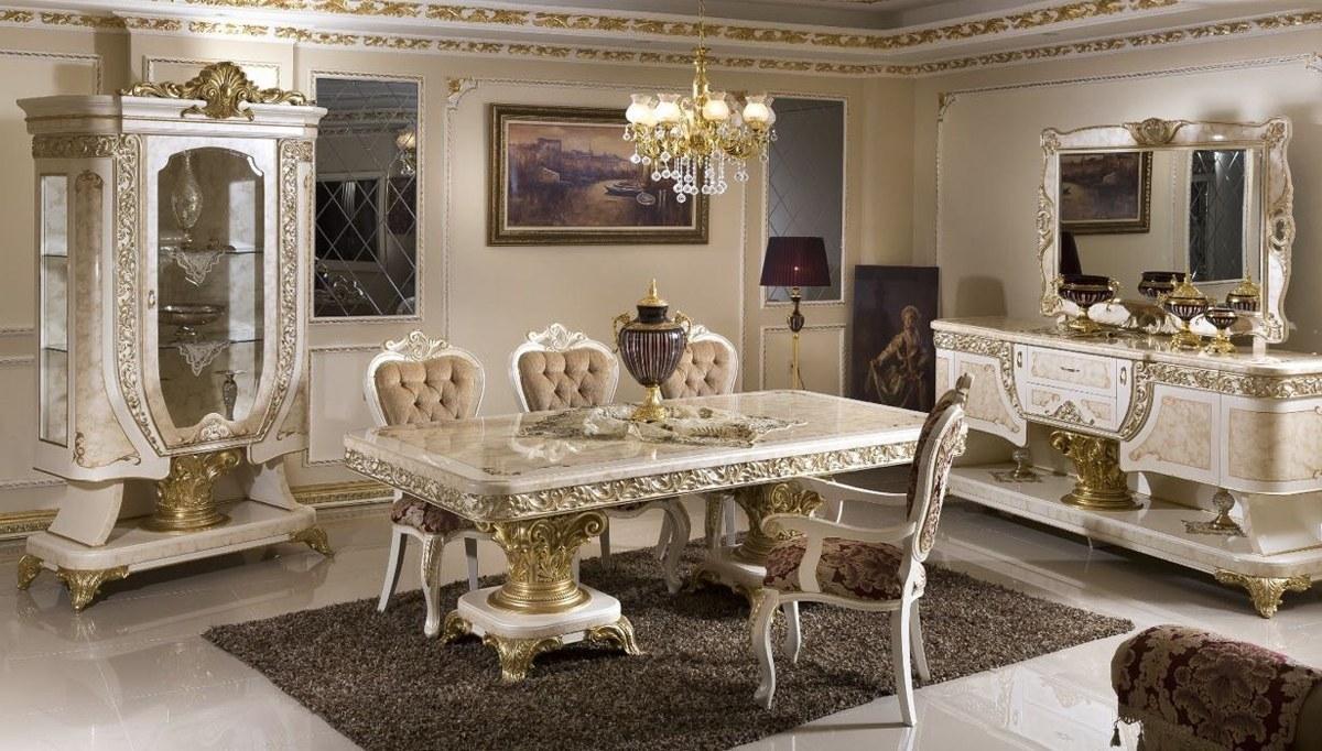 Lüks Safir Klasik Yemek Odası