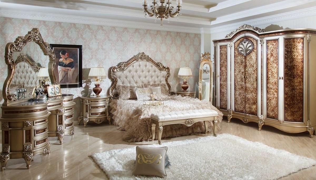 Lüks Safiros Klasik Yatak Odası