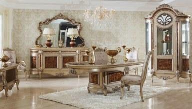 Lüks Safiros Klasik Yemek Odası - Thumbnail