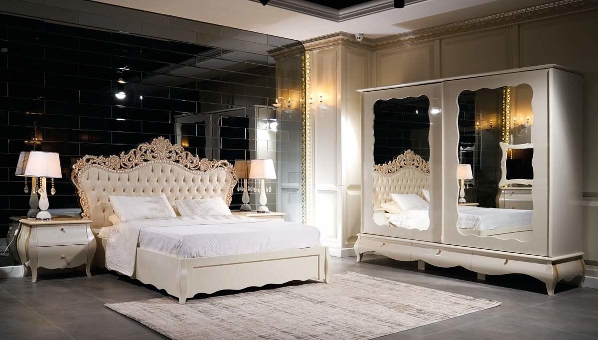 Lüks Şah Klasik Yatak Odası
