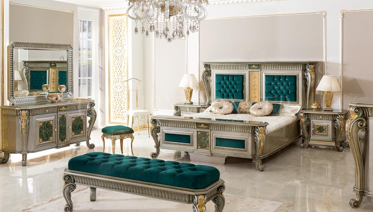 Lüks Şaheser Klasik Yatak Odası