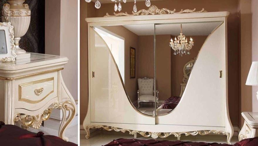 Lüks Şahmeran Klasik Yatak Odası - Thumbnail