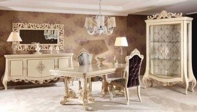 623 - Lüks Şahmeran Klasik Yemek Odası