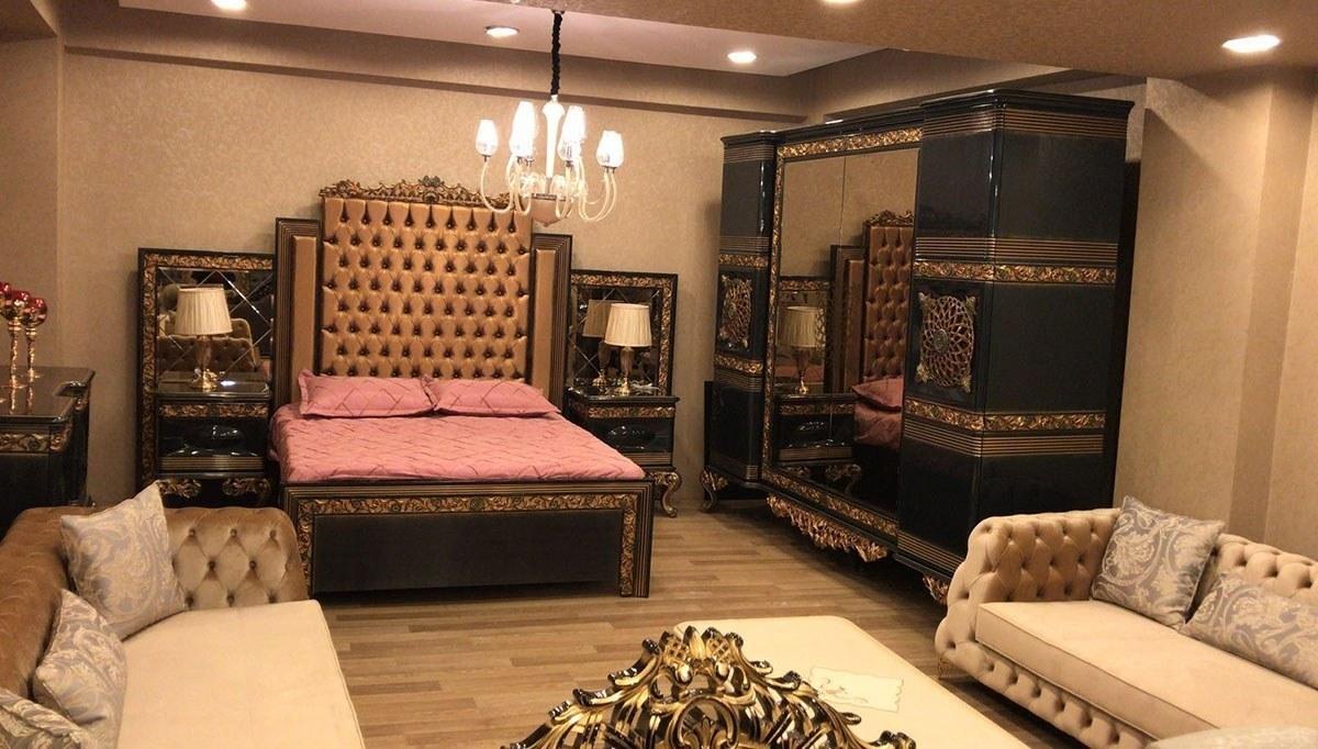 Lüks Salena Klasik Yatak Odası