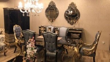 925 - Lüks Salena Klasik Yemek Odası