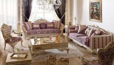 Lüks Saltane Klasik غرفة الجلوس