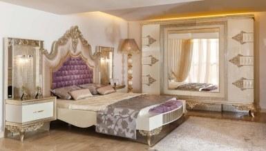 878 - Lüks Saltane Klasik Yatak Odası
